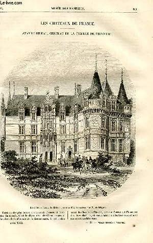 Le musée des familles - lecture du soir - livraisons n°21 et 22- Les châteaux de ...