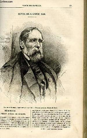 Le musée des familles - lecture du soir - livraison n°12 - Revue de l'année 1860 par Pitre ...