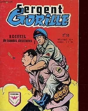 RECUEIL SERGENT GORILLE N°528 - N°1 A 6: COLLECTIF