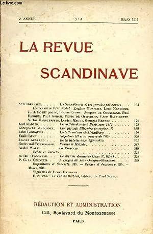 LA REVUE SCANDINAVE / 2ème ANNEE - N° 3 - MARS 1911.: COLLECTIF