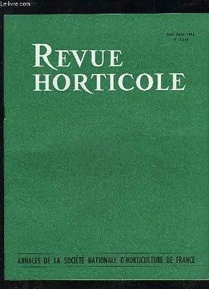 LA REVUE HORTICOLE 1963 N° 2253 -: CHOPINET R.