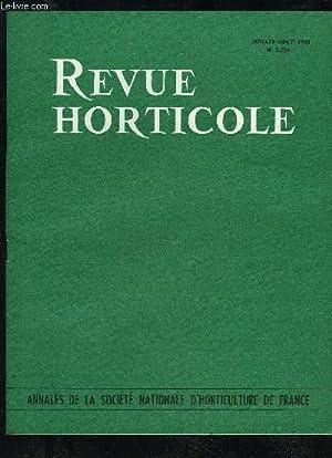 LA REVUE HORTICOLE 1963 N° 2254 -: CHOPINET R.