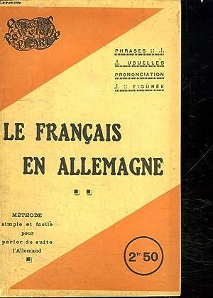 LE FRANCAIS EN ALLEMAND. METHODE SIMPLE ET: COLLECTIF.