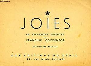 JOIES, 40 CHANSONS INEDITES: COCKENPOT FRANCINE