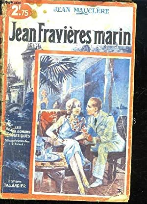 JEAN FRAVIERES MARIN.: MAUCLERE JEAN.