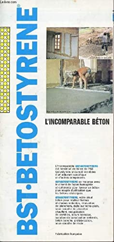 PLAQUETTE / BST.BETOSTYRENE / L'INCOMPARABLE BETON.: COLLECTIF