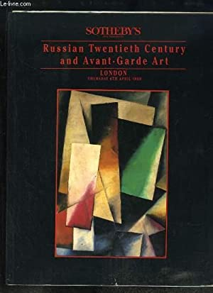 Russian Twentieth Century and Avant-Garde Art. London,: SOTHEBY'S