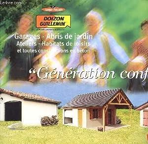 CATALOGUE DOIZON GUILLEMIN / GARAGES - ABRIS DE JARDIN - ATELIERS - HABITATS DE LOISIRS ET ...