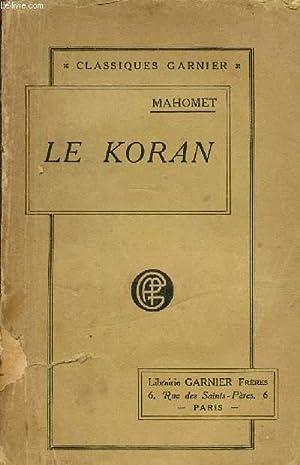 LE KORAN - ACCOMPZGNE DE NOTES -: SAVARY M. /