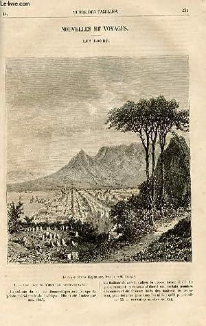 Le musée des familles - lecture du soir - livraisons n°33 et 34 - Nouvelles et voyages - les Boers ...