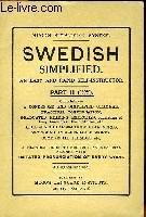 SWEDISH SIMPLIFIED, Parts 1 and 2 (2 volumes).: COLLECTIF