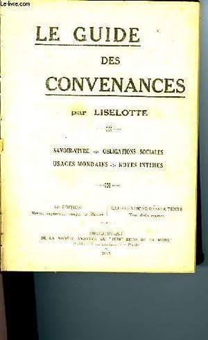 LE GUIDE DES CONVENANCES: LISELOTTE