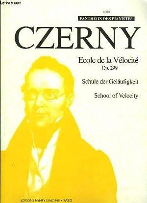 Ecole de la Vélocité. Op 299: CZERNY C.
