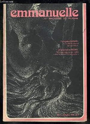 EMMANUELLE N° 1 OCTOBRE 1974. LE MAGAZINE DU PLAISIR. SOMMAIRE: NON A L EDUCATION SEXUELLE, ...