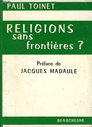 RELIGIONS SANS FRONTIERES ?: TOINET PAUL