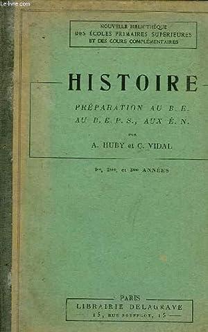 HISTOIRE: HUBY A. et VIDAL C.