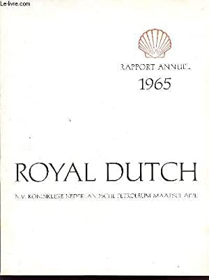 ROYAL DUTCH / RAPPORT 1965.: COLLECTIF