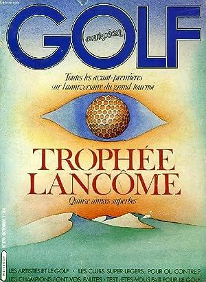 GOLF EUROPEEN, N° 170, OCT. 1984, TROPHEE: COLLECTIF