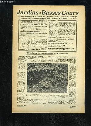 JARDINS ET BASSES-COURS N° 124 - LA QUESTION DU JOUR : L'EMPLOI DES PLANTES VIVACES EST-IL &...