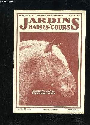 JARDINS ET BASSES-COURS N° 387 - CHAMPION « CÉSAR », ÉTALON ARDENNAIS Couverture.L'UNION FAIT ...