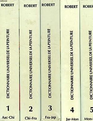 DICTIONNAIRE UNIVERSEL DE LA PEINTURE, 6 TOMES: MAILLARD ROBERT & ALII