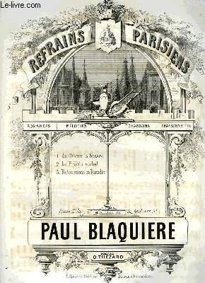 REFRAINS PARISIENS: BLAQUIERE Paul