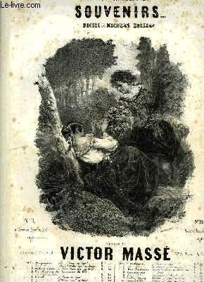 CHANTS D'AUTREFOIS, SOUVENIRS.: MASSE Victor