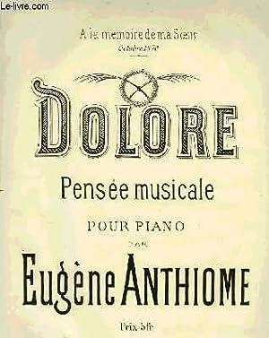 DOLORE: ANTHIOME Eugène