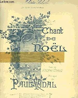 CHANT DE NOEL: VIDAL Paul