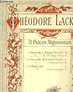 3 PIECES MIGNONNES: LACK Théodore