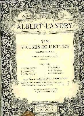 SIX VALSES-BLUETTES: LANDRY Albert