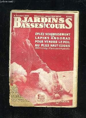 JARDINS ET BASSES-COURS N° 583 - AVICULTEURS,: MAUMENE ALBERT