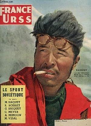 FRANCE URSS / MARS 1957 - N°138 / LE SPORT SOVIETIQUE VU PAR M. BAQUET, R. BOISSET, G...