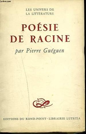 POESIE DE RACINE: PIERRE GUEGUEN