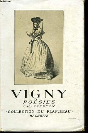 POESIES. CHATTERTON.: VIGNY