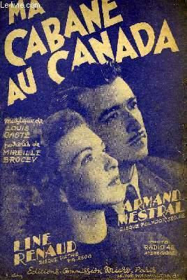 MA CABANE AU CANADA: GASTE Louis et