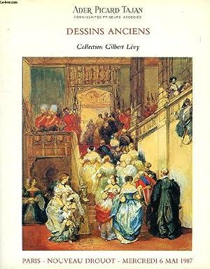 DESSINS ANCIENS, COLLECTION GILBERT LEVY (CATALOGUE): COLLECTIF