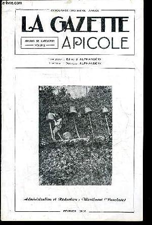 LA GAZETTE APICOLE N° 542 - Coccides à miellat (Louis Roussy) La fausse teigne (Docteur ...