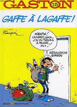 GASTON, 15, GAFFE A LAGAFFE !: FRANQUIN