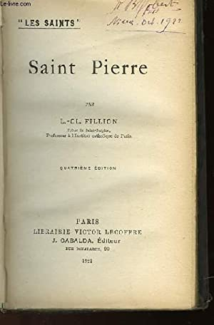 SAINT PIERRE: FILLION L.-C.L.