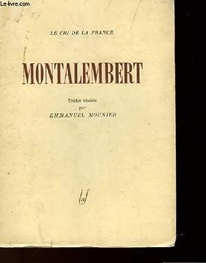 MONTALEMBERT: MOUNIER EMMANUEL