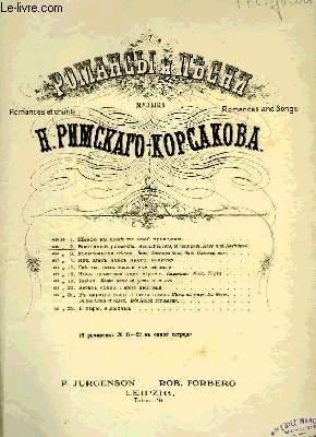 AIMANT LA ROSE, LE ROSSIGNOL: RIMSKY-KORSAKOFF N.