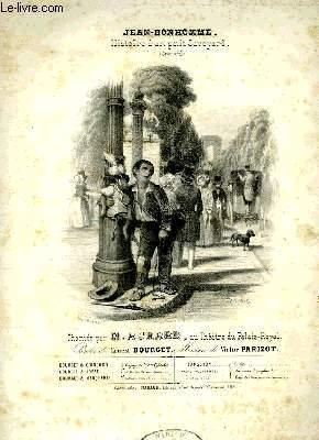 JEAN-BONHOMME: PARIZOT Victor / BOURGET Ernest