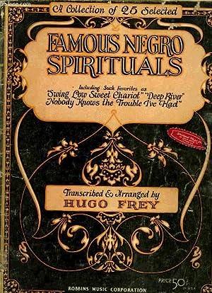 FAMOUS NEGRO SPIRITUALS: FREY Hugo