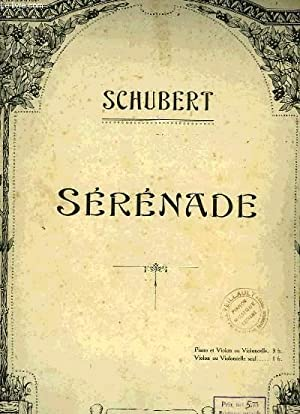 SERENADE: SCHUBERT