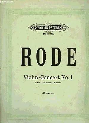 VIOLIN-CONCERT N°1: RODE