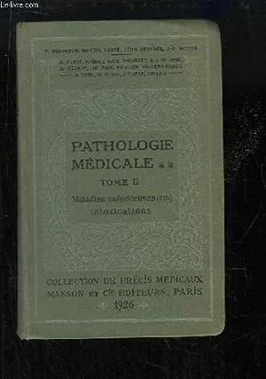 Précis de Pathologie Médicale. TOME 2 : Maladies Infectieuses (2de partie): BEZANCON ...