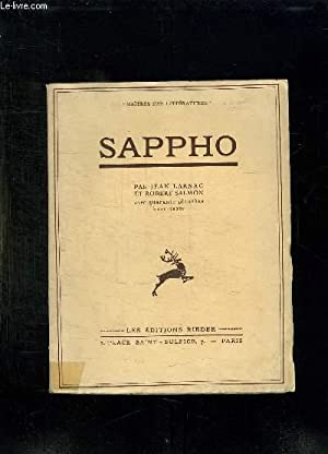 SAPPHO.: LARNAC JEAN ET SALMON ROBERT.