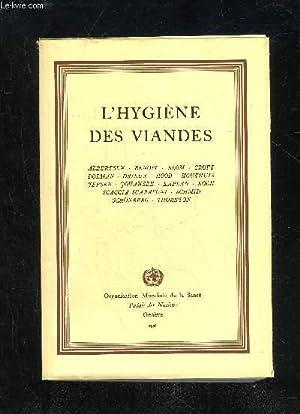 L'HYGIENE DES VIANDES: COLLECTIF