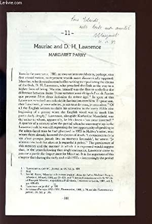 2 FASCICULES / MAURIAC AND D.H .LAWRENCE / L'ART BYZANTIN ET L4ICONOGRAPHIE DU ...